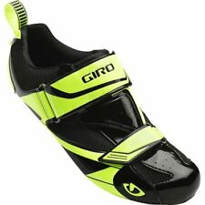 GIRO MELE TRI BLACK / YELLOW MEN'S CYCLING SHOES - SPRING INTO FITNESS SALE!