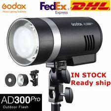 DHL Godox AD300Pro 2.4G TTL HSS Outdoor Flash 300W Flash Monolight Strobe 5600K