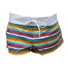 Ripcurl Womens Boardshorts Size 14 AU Ladies Striped Beach Sport Boardies Shorts