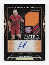 Panini Obsidian Arjen Robben Bayern Matrix Materials Orange Match Worn 06/25