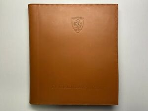 FERRARI SCHEDONI LEATHER BUSINESS ORGANIZER | NOTEPAD | POUCH | LIMITED #032/199