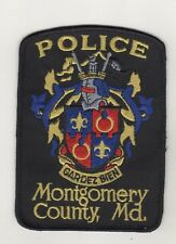 Ricamate USA Montgomery County Police Maryland Uniform shoulder Patch