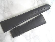 VINTAGE NOS GENT'S 22X14 MM ROLEX BLACK LEATHER STRAP                      *6870