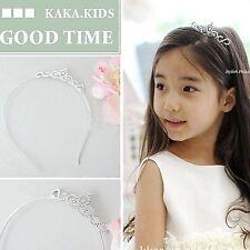 Girls Kids Crystal Princess Wedding Bridemaid Party Tiara Crown Hair headband