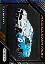 Ryan Newman 60 2019 Panini Prizm NASCAR Acceleration