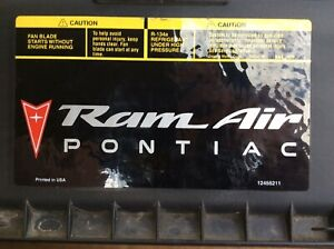 pontiac trans am ws6 Air Filter Cover