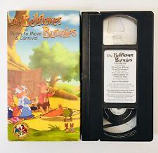 The Bellflower Bunnies in Room to Move & Carnival VHS Video