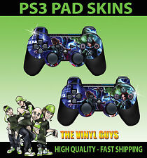 Playstation 3 Controller sticker skins X 2 AVENGERS ASSEMBLE SUPERHERO GRAPHICS