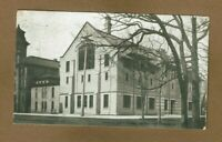 Oshkosh,WI Wisconsin State Normal School Gymnasium used 1909