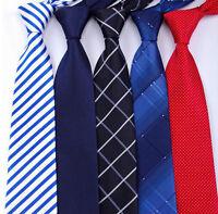 20 style Formal men's ties business wedding striped grid necktie 8CM