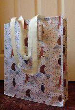 Animals On Bikes reusable durable shopping bag / tote bag / book bag - New