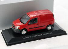 Mercedes-Benz Citan Kastenwagen amarenarot 1:43 Minichamps
