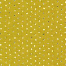 Grün Weiß Punkte Bio Patchworkstoff Stoff Baumwollstoff Cloud9 Fabrics