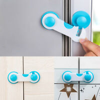 1/5Pcs Child Safty Lock Multi Function Adhesive Safety Latches Locks for Fridge
