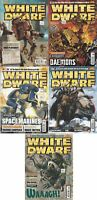 White Dwarf Magazine 5 Issue Bundle - Games Workshop - Acceptable - Magazine