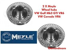 MEYLE FRONT WHEEL HUB X2 WITH ABS RING VW CORRADO VR6 GOLF MK3 GTI VR6 (PAIR)