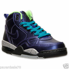 WOMEN'S AIR FLIGHT '13 MID NIKE BASKETBALL SHOES SNEAKERS ELECTRO PURPLE SIZE 6