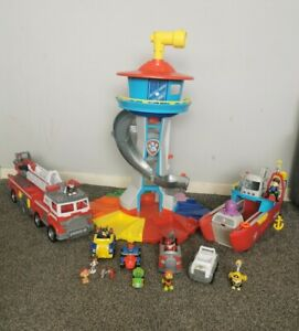 PAW PATROL MY SIZE LOOK OUT TOWER BIG BUNDLE