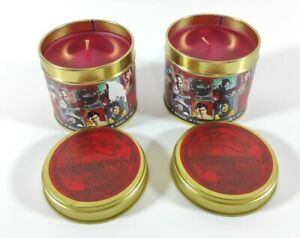 """2x Mortal Kombat """"FINISH HIM!!"""" Scented Candles New Rare Official Merchandise"""