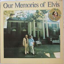 """ELVIS PRESLEY - LP """"OUR MEMORIES OF ELVIS"""" - FRANCE"""