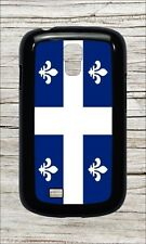 FLEUR DE LIS QUEBEC FLAG CASE COVER FOR SAMSUNG GALAXY S4 -ldf5Z