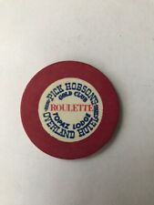 Pick Hobsone Gold Club Red Roulette Topaz Lodge Overland Hotel Casino Chip