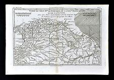 1779 Bonne Map Granada Colombia Guiana Brazil Lake Parime Caracas South America