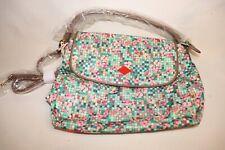 Oilily Crossbody Shoulder Bag Purse Floral Mint