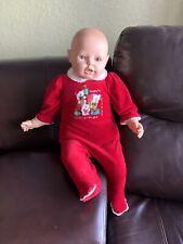 "Berjusa Doll 26"" Vinyl Cloth Body Vintage Large Baby"