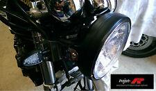 Matt Negro Crystal Clear Motor Bicicleta Ducati Monster 700 750 800 900 Cabeza Luz CE