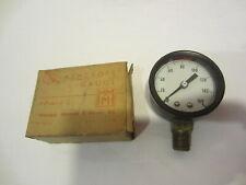 Ashcroft 2 160 Pressure Gauge Gage 2 1000 Black Vintage Nib