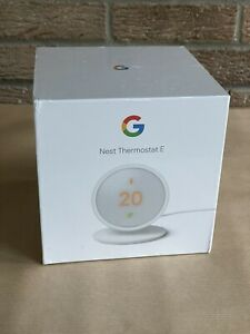 Google Nest Thermostat E, Brand New from Google - Sealed, Unopened