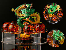 Japan Anime Dragon Ball Z Shenron Shen Long Statue Figurine 15cm stander no box