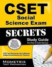 CSET Social Science Exam Secrets Study Guide : CSET Test Review for the...
