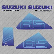 Suzuki DT65 65HP Two stroke Outboard Engine Decals Sticker Set reproduction