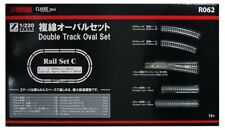 Rokuhan R062 Rail Set C Double Track Oval Set 1/220 Z Scale w/ Tracking NEW