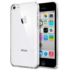 Case For iPhone 5C Ultra Thin Crystal Clear Hard Back Cover + 1 Screen Protector