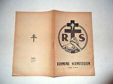 Franche-Comté.Territoire de Belfort.Raymond Schmittlein.Biographie.Gaullisme.