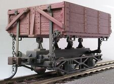 On30=HO Side Dump-Wagons Mining car (Ore/Erz Car) x 3pcs/3 Stück/set per box