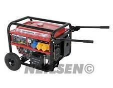 Neilsen BDE6500E 6.25Kva (5000 Watts) Electric start petrol generator NEW