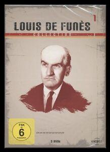 DVD LOUIS DE FUNES COLLECTION 1 - 3 DISC BOX SET - DIE GROSSE SAUSE *** NEU ***