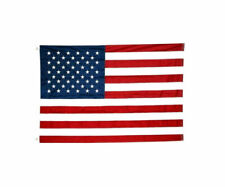 American Flag Nylon 4 X 6 ft. with Embroidered Stars (Large)
