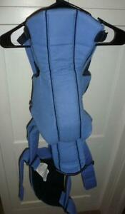 Baby Bjorn Active Carrier Denim Blue/Black With EXTRA Lumbar Support RARE COLOR!