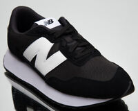 New Balance 237 Men's Black White Low Athletic Casual Lifestyle Sneakers Shoes