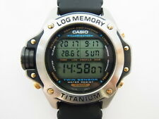 Casio DEP-700 Twin Sensor Log Memory Diver's Titanium Watch (g-shock frogman