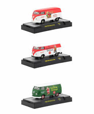 """COCA-COLA"" SANTA CLAUS RELEASE SET OF 3 CARS 1/64 BY M2 MACHINES 52500-SC01"