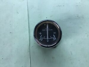 "vintage lucas ammeter 1.5"" New old Stock"