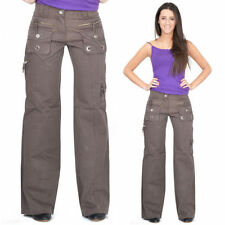 Unbranded Wide Leg Low Rise Trousers for Women