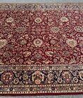 Top Quality Vintage Floral Oriental Handmade Pakistani Rug, Light Distress, 9x12