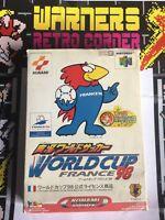 World Cup 98 France 64 N64 Japan  Jpn Ntsc J Boxed  Retro #retrogaming Game